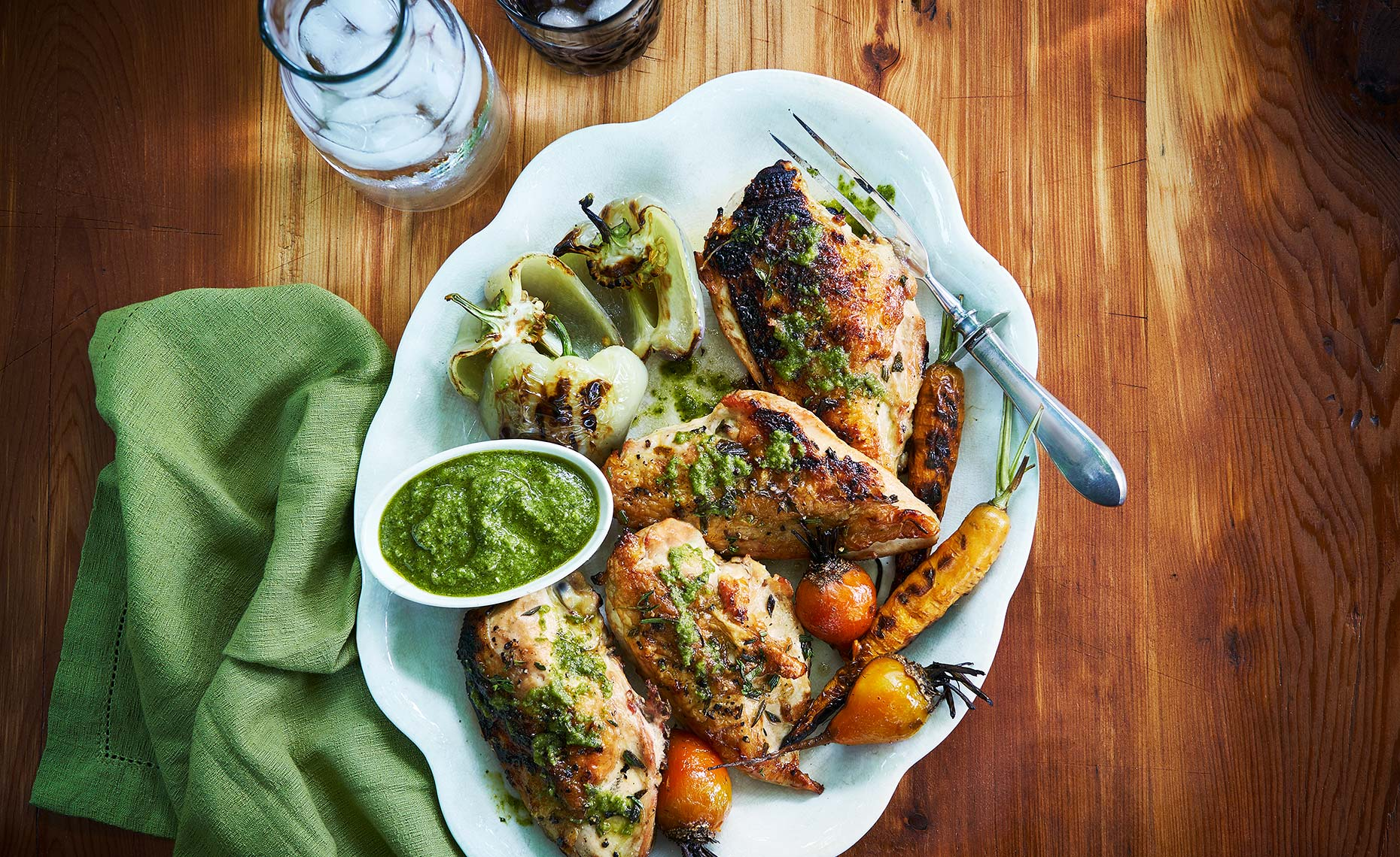 GrilledChicken_Pesto
